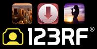 загрузить работы на 123RF,   загрузка файлов на 123RF