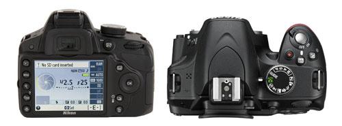 Обзор камеры NikonD3200 внешний вид