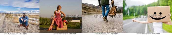 Тематическая фотосессия Автостопом