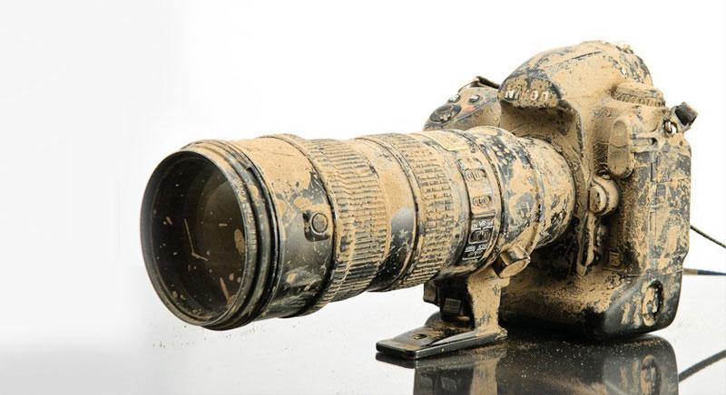 Пыль на матрице фотоаппарата